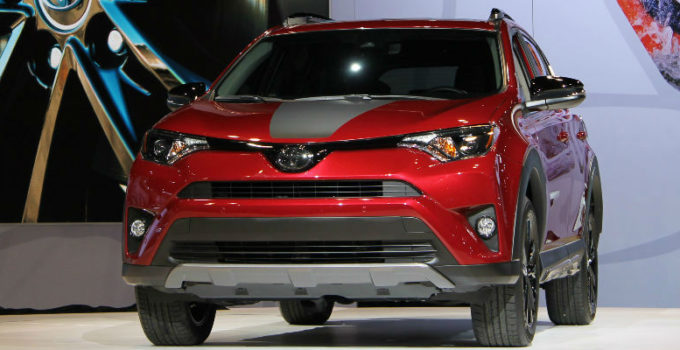 2018 Toyota RAV4 Adventure Trim Level Features And Release