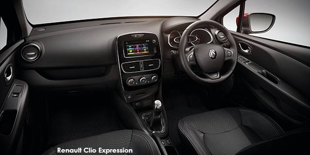 Renault Clio 66kW Turbo Expression Specs In South Africa