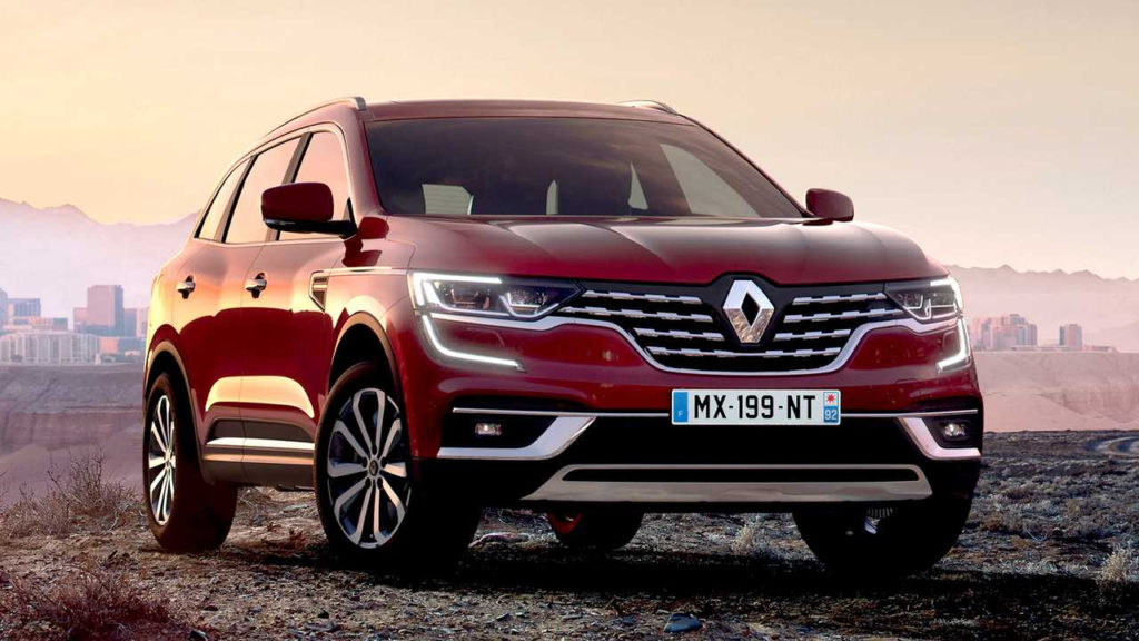 Renault Koleos Facelift Goes Official With New Look