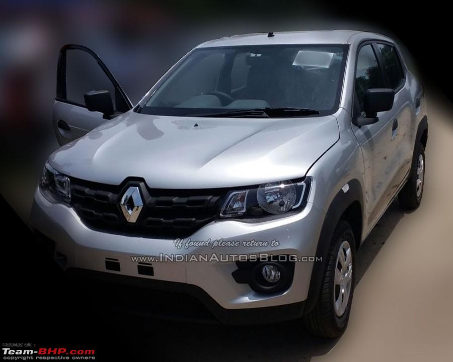 Renault s Kwid Entry Level Hatchback Unveiled EDIT Now
