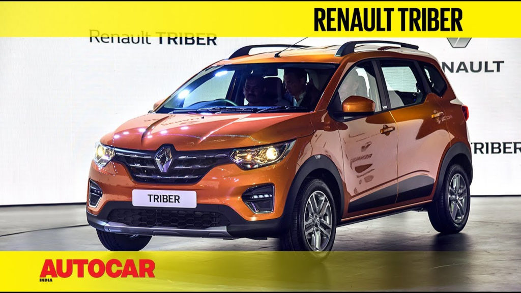Renault Triber Compact 7 seater First Look And