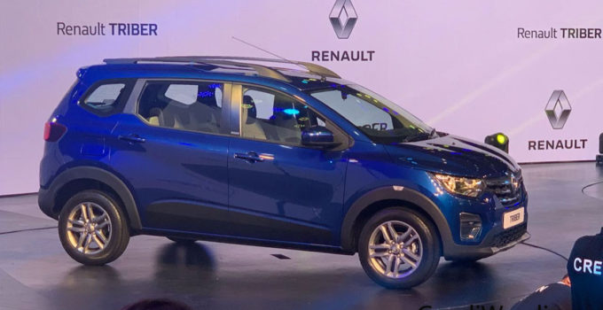 Renault Triber MPV Makes Global Premiere In India