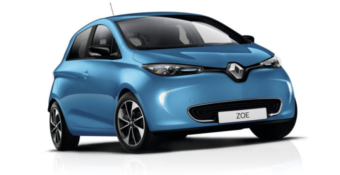 Design ZOE Electric Renault UK