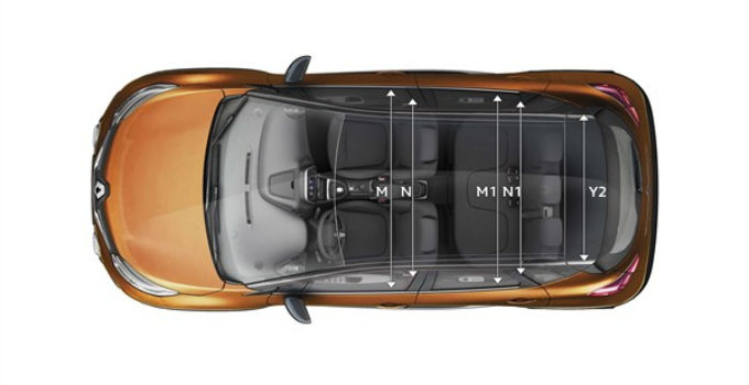 Dimensions And Size New Renault CAPTUR Renault Bahrain