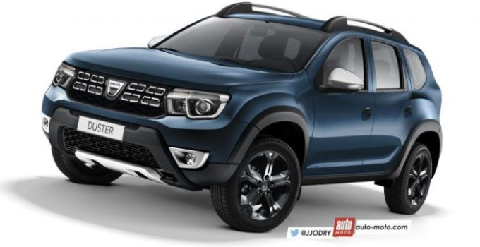 2018 Renault Duster Rendered Inside Out Motoroids