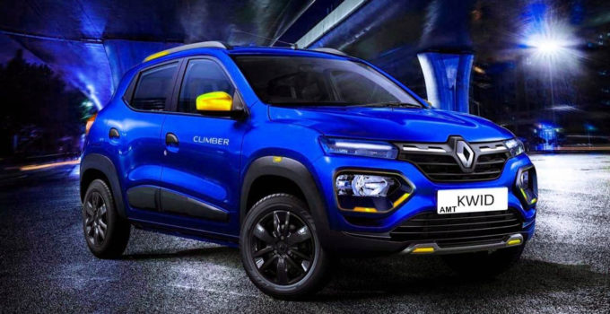 Renault Kwid Climber AMT Price Mileage Top Speed Specs