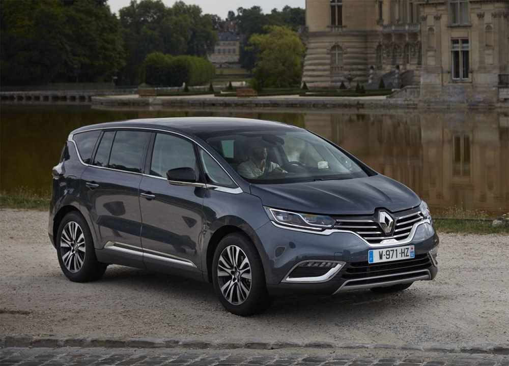 Renault Espace 2020 Barely Perceptible Restyled Minivan