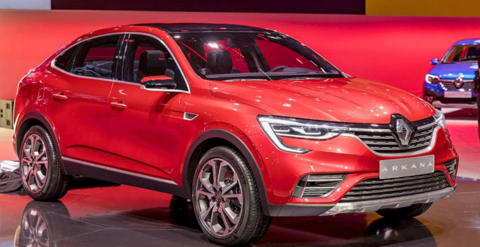 2019 Renault Arkana Unveiled As Coupe SUV For The Masses