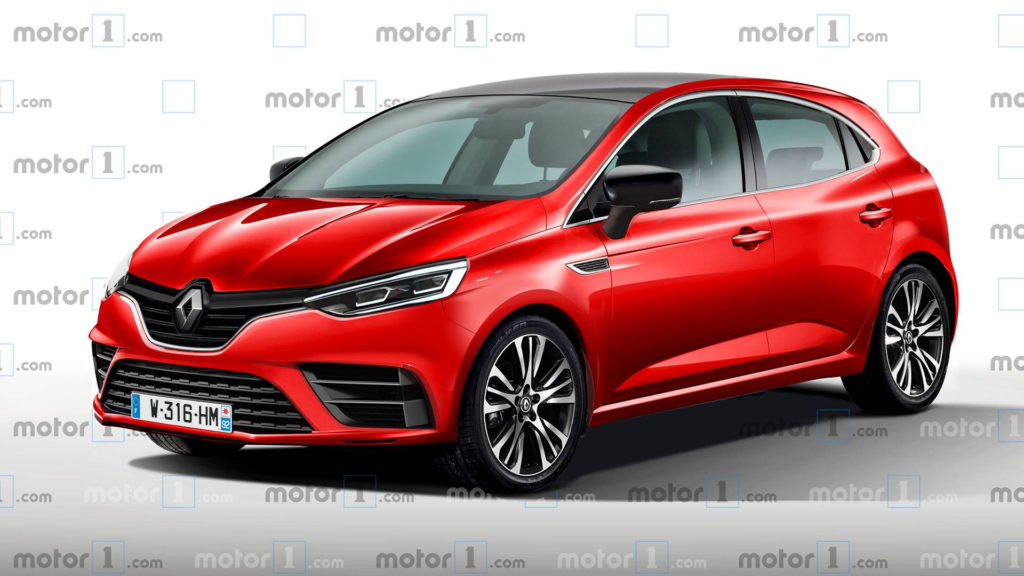 2019 Renault Clio Rendering Previews Handsome Compact