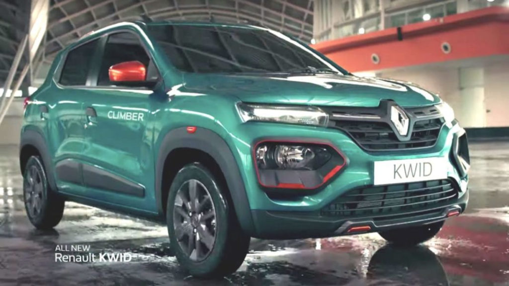 2020 Renault Kwid Facelift Variant Wise Features And Price