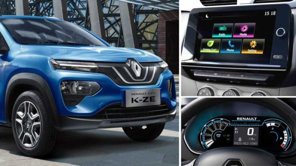 2020 Renault Kwid Climber Facelift Spied Undisguised With