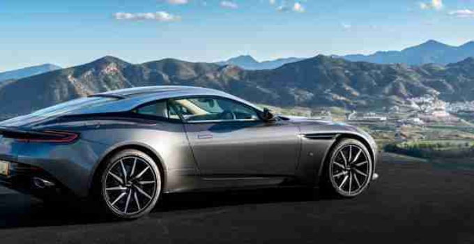 Aston Martin 2017 17 Plate DB11 Launch Edition Iconic