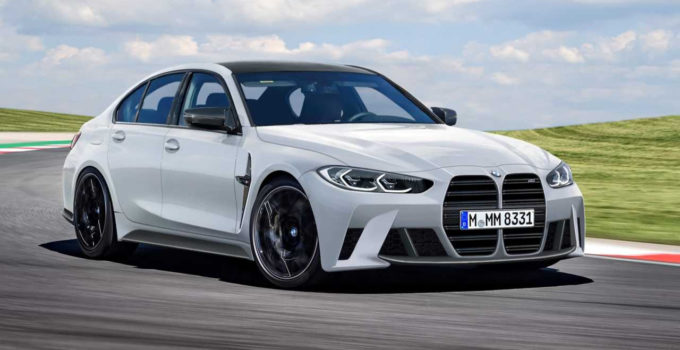 2021 BMW M3 Fan Rendering Embraces The Big Grille