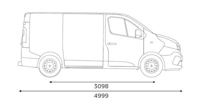 TRAFIC SpaceClass Dimensions Specifications Renault