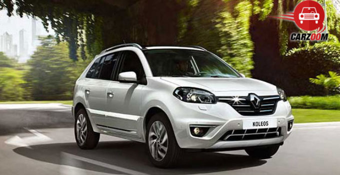 New Renault Koleos 4 Wheel Drive AT DieselPrice In India