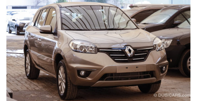 Renault Koleos 4WD For Sale Grey Silver 2015