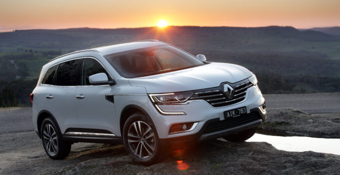 2017 Renault Koleos Review Photos CarAdvice