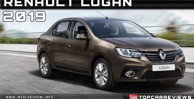 2019 RENAULT LOGAN Review Rendered Price Specs Release