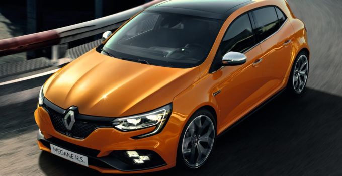 New Renault Megane RS Debuts 280 Hp Four wheel Steering