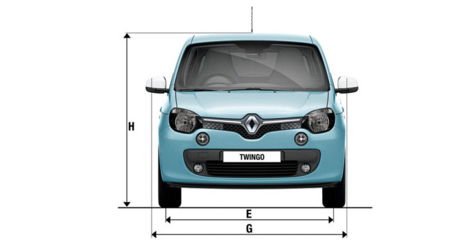 Dimensions TWINGO Cars Renault UK